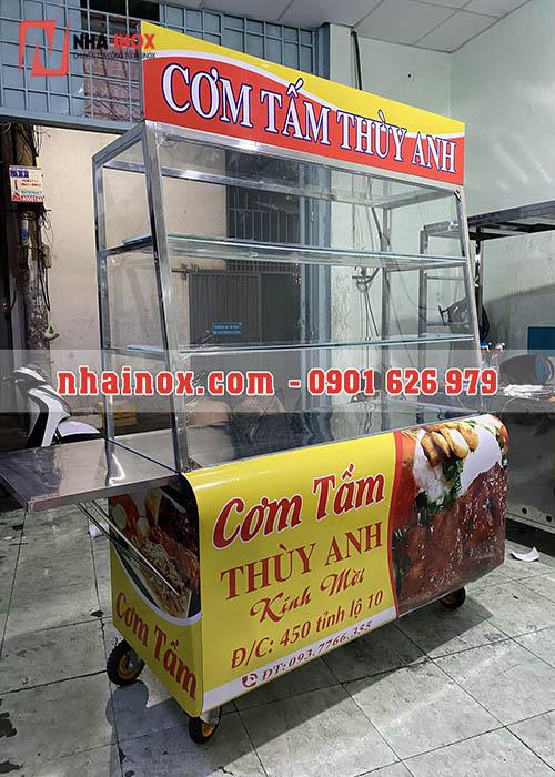Xe bán cơm tấm