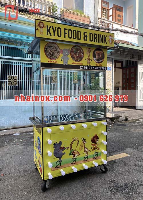 Xe bán thức ăn nhanh, nước uống