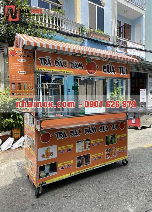 Xe bán đồ ăn vặt, thức ăn nhanh