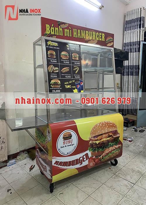Xe bánh mì hamburger