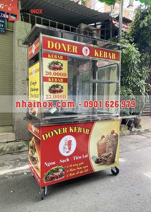 Xe bánh mì Thổ Nhĩ Kỳ mái che