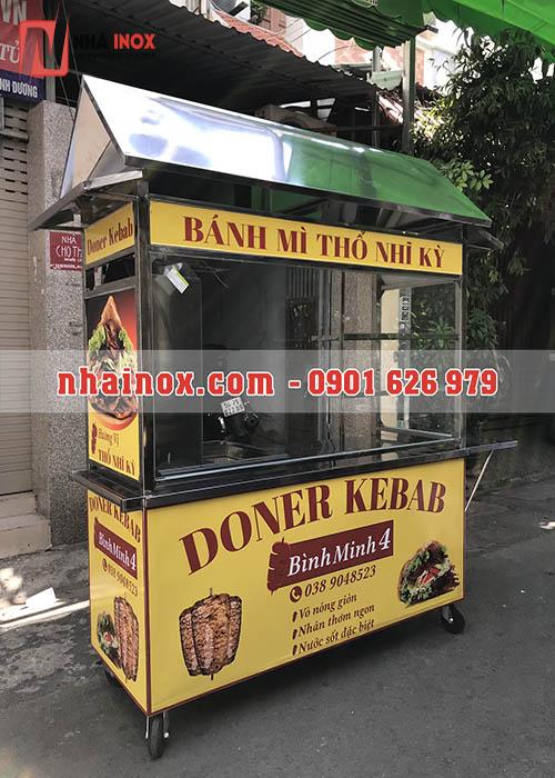 Xe bánh mì Thổ Nhĩ Kỳ mái chùa