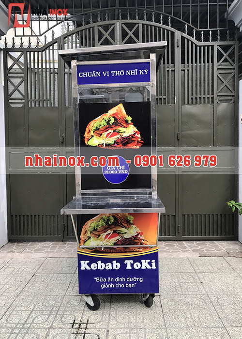 Xe bánh mì Thổ Nhĩ Kỳ mẫu vuông giá rẻ
