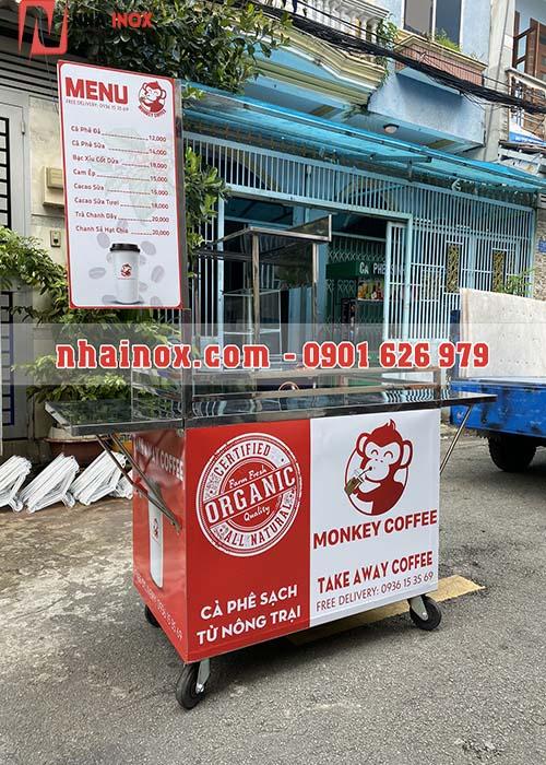 Xe cafe mang đi giá rẻ đẹp