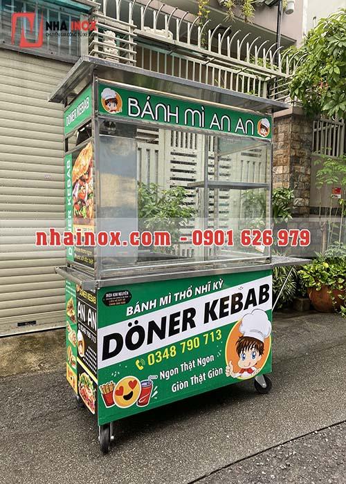 Xe Doner Kebab mẫu vuông