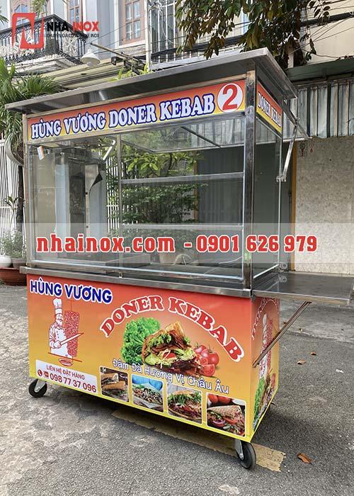 Xe bánh mì Doner Kebab hùng vương
