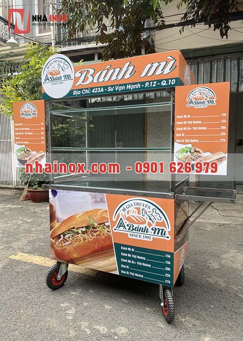Xe bánh mì mẫu mới nhất