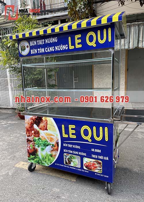 Tủ bán bún thịt nướng