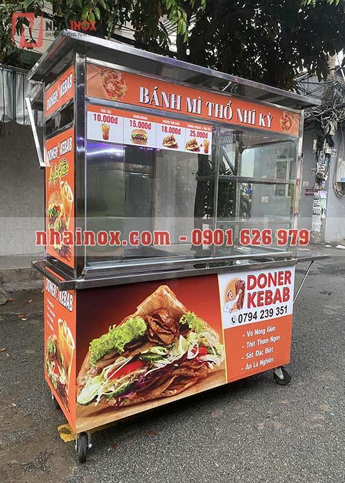 Xe bánh mì Thổ Nhĩ Kỳ giá rẻ đẹp