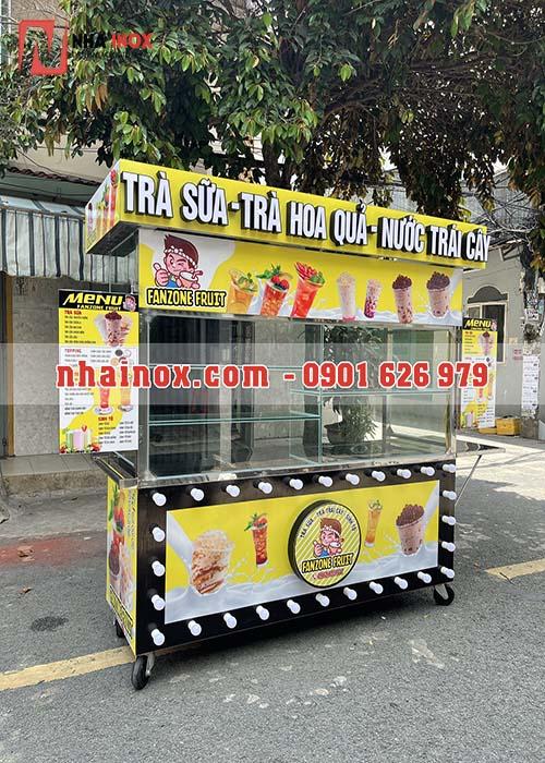Tủ trà sữa, trà hoa quả, nước trái cây SP027