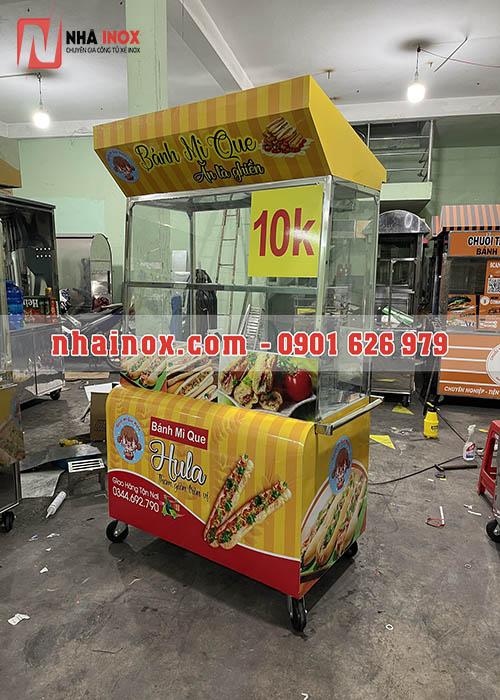 Tủ xe bánh mì que SP033