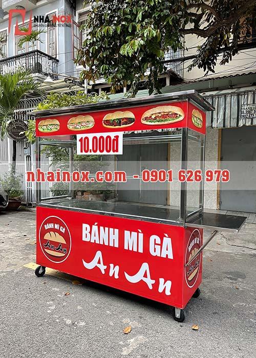 Xe bánh mì đẹp giá rẻ SP049