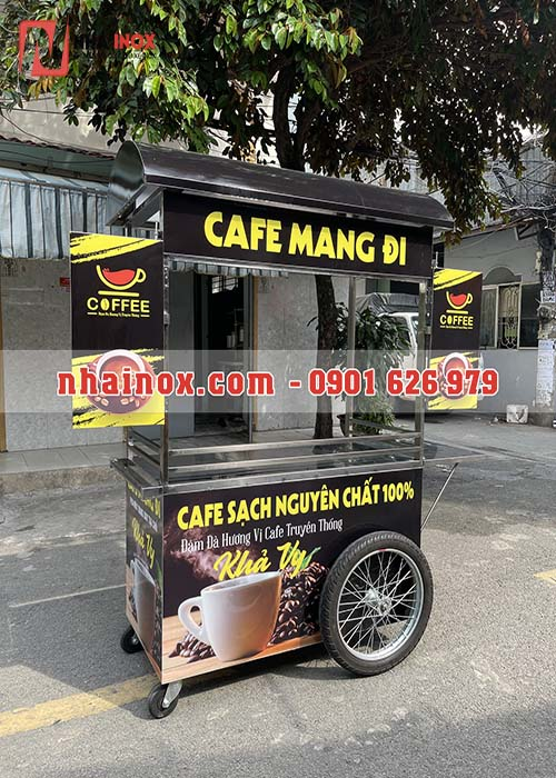 Xe cafe mang đi hai bánh xe máy SP071
